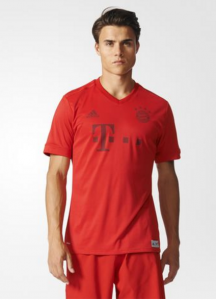 FC Bayern Munich Football Jersey Made From Plastic Ocean Waste (Courtesy: Adidas)