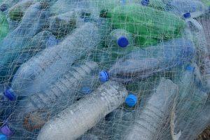A Pile of plastic Ocean waste