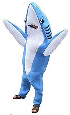 Shark Party Costume: Shark week 2017