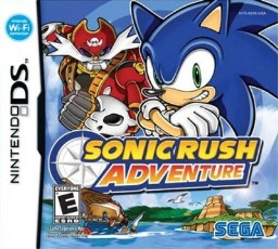 Sonic Rush Adventure: Sharks in video games