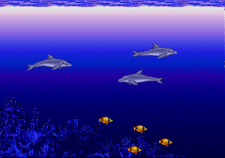 Sharks in Ecco The Dolphin
