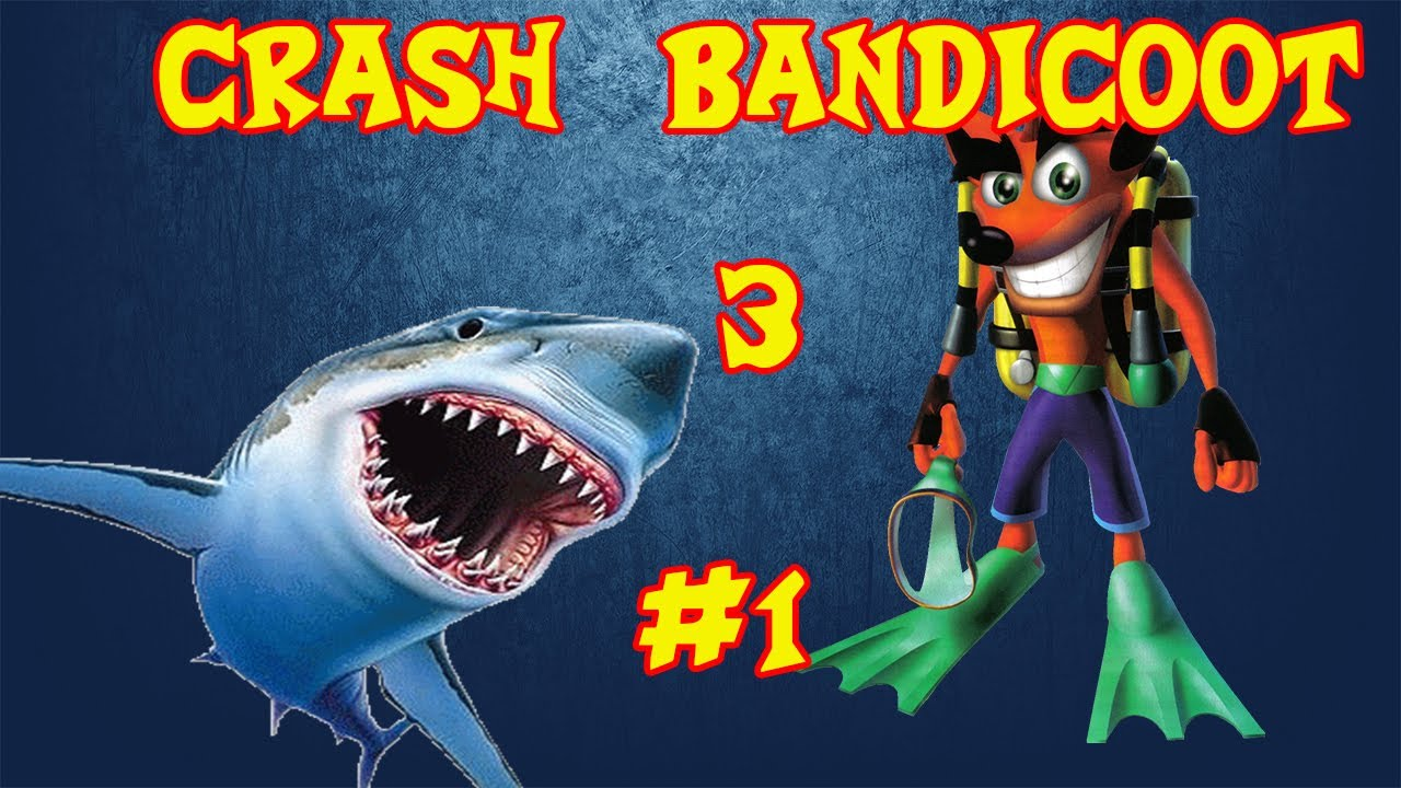 Crash Bandicoot: Sharks in video games