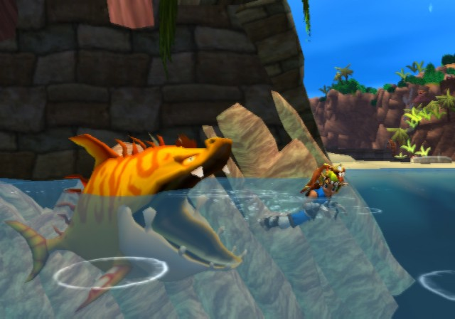 Lurker Shark In Jak And Daxter