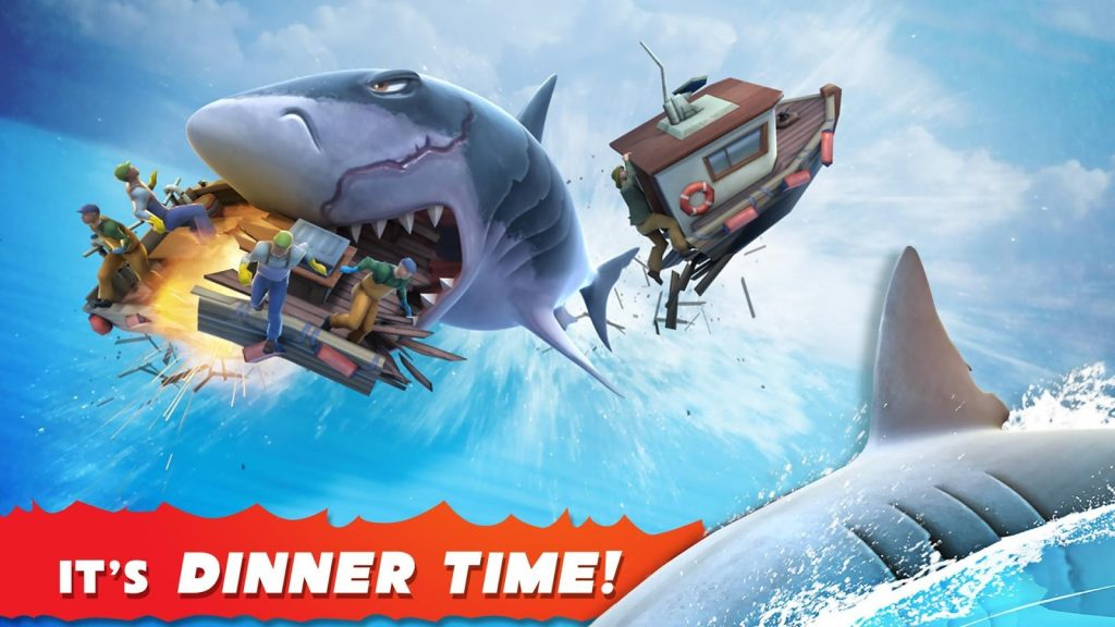 Hungry Shark Evolution: Sharks in Video Games