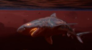 Cyber Shark in Far Cry 3: Blood Dragon. Sharks in video games