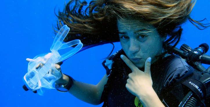 Madison Stewart Underwater