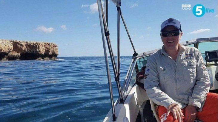 John Craig And The Tiger Shark